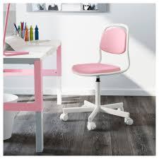 Kid Desk And Chair örfjäll Children S Desk Chair White Vissle Pink Ikea