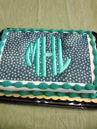 cake monograms grey chevron with pink monogram cake meme s cakes