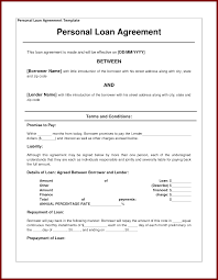 Sample Contract Letter Sample Loan Agreement Letter Between Friends Sample Loan Agreement