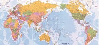 Wall Map Murals World Map Mural