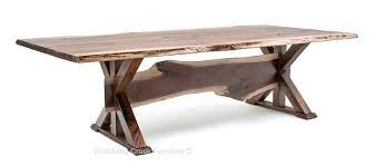 trestle base dining table walnut trestle table mountain dining table with trestle base john