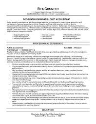 Best Accountant Resume by Best Accounting Resume Sample Best Accounting Resume Examples Best