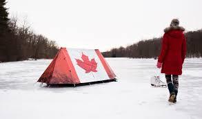 maple leaf u0027 canadian flag camping tent
