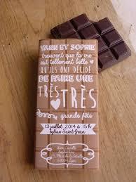 chocolat personnalisã mariage 30 faire part pacs fête tablette chocolat