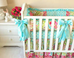mint baby bedding etsy