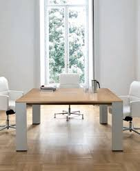 Square Boardroom Table Contemporary Boardroom Table Wooden Rectangular Square Ono