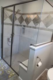 bath kirk hughes inc st louis mo quality home porcelain tile shower with low profile onyx collection shower base and heavy glass custom shower enclosure