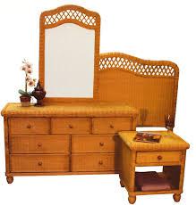 Rattan Bedroom Furniture Rattan And Wicker Bedroom Furniture Sets Wicker Dresser And