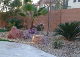Desert Backyard Landscape Ideas Las Vegas Landscaping And Henderson Landscaping