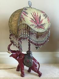 antique elephant table lamp victorian era circa 1920 u0027s unique