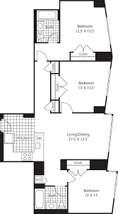 Most Efficient Floor Plans 70 Greene Apartments Downtown Jersey City 70 Greene Street