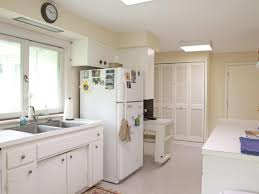 Kitchen Yellow Walls White Cabinets by Color Ideas For Painting Kitchen Cabinets Hgtv Pictures Hgtv