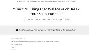 how to create a sales funnel the right way
