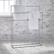 Towel Bathroom Storage Bathroom Storage Crate And Barrel