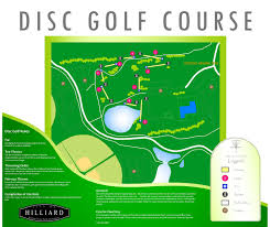 Map Of Dublin Ohio by Disc Golf