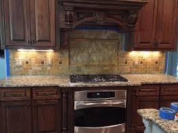 chalkboard backsplash painting ceramic backsplash polished brown granite countertop