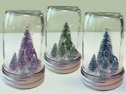 miniature christmas trees diy jar christmas crafts miniature christmas tree in a jar