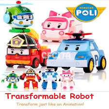 car toy clipart robocar poli transformable transform robot car toys kids 4pcs toy
