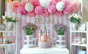 baptism table centerpieces kara s party ideas pink princess baptism party kara s party ideas