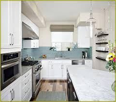 blue kitchen backsplash kitchen backsplash ideas better homes gardens within blue subway