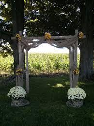 wedding arch log wooden arbor for wedding finding wedding ideas