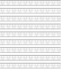 uppercase letter m worksheets preschool crafts