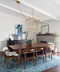 kent lacquer dining table room eclectic with black furniture and