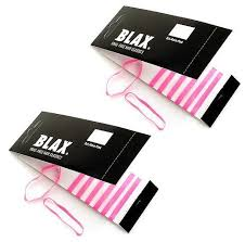 blax hair elastics blax pink 4mm snag free hair elastics 8 pcs 2 pack