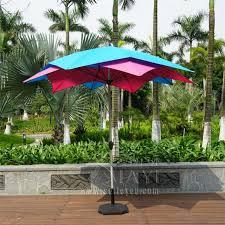 Patio Umbrellas Covers 3 Meter 10 Ribs Lotos Patio Umbrella Garden Parasol Outdoor