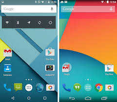 android lolipop 10 diferenças entre o android 4 4 kitkat e o android 5 0 lollipop