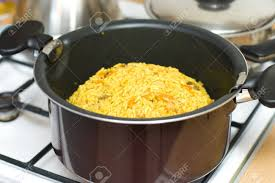 cuisine ouzbek le riz les carottes de viande et d épices la cuisine ouzbek pilaf
