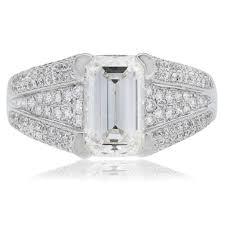 neil emerald cut engagement rings neil archives designers diamonds