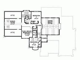 Bedroom Plan House Plan 2995 C Springdale First Floor Traditional 2 Story 4