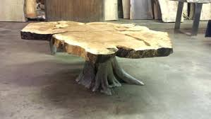 Log Side Table Log Side Tables Stump End Table Coffee Wood Log Coffee Table