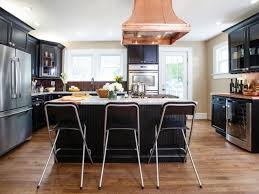 black kitchen cabinets in a small kitchen black kitchens are the new white hgtv s decorating