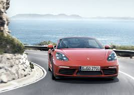 Porsche Boxster New Model - porsche 718 boxster revealed with new turbo u0027d 4 cylinder engines