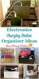 Diy Multi Device Charging Station Charging Station Organizer Ideas For Phones U0026 Other Electronics