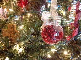 glass christmas decorations ne wall