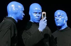 Blue Man Halloween Costume Blue Man Group Colors Blue Man Group