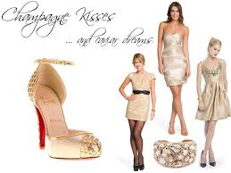 what color shoes do you wear with a champagne dress best gowns