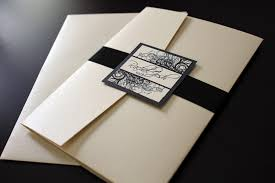 black wedding invitations chagne and black wedding invitations chagne and black