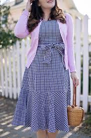 the perfect gingham dress u2013 history in high heels