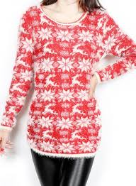 snowflake sweater neck sleeve plus size snowflake sweater oasap com