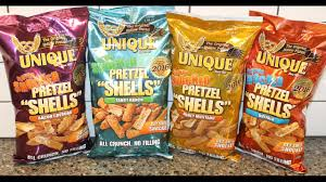 unique pretzel shells where to buy unique flavor shocked pretzel shells bacon cheddar tangy ranch