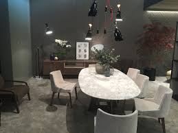 40 dining room ideas that caught our eye at milan 2016 view in gallery dining table with marble coutertop exudes an air of luxury 40 dining room ideas that caught