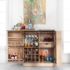 Crosley Bar Cabinet Crosley Bar Cabinet Crosley Cambridge Sliding Top Bar Cabinet