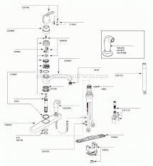 moen single handle kitchen faucet repair diagram kitchen territory