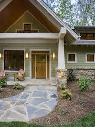 love this stone path ranch house exterior paint colors design