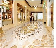 marbled mosaic tiled floors custom photo self adhesive 3d floor