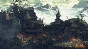 dark village wallpaper dark souls iii village wallpaper 31320